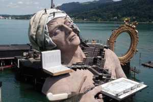Spektakuläres Bühnenbild für Bregenzer Festspielbühne