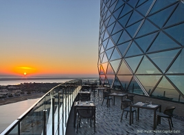 Capital Gate_Ausblick