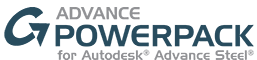 Advance PowerPack für Autodesk® Advance Steel 2016