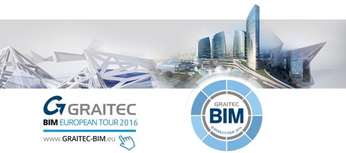 Einladung zur GRAITEC European BIM Tour 2016