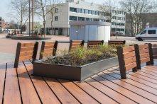 Advance Steel Projekt: Öffentliche Sitzinseln